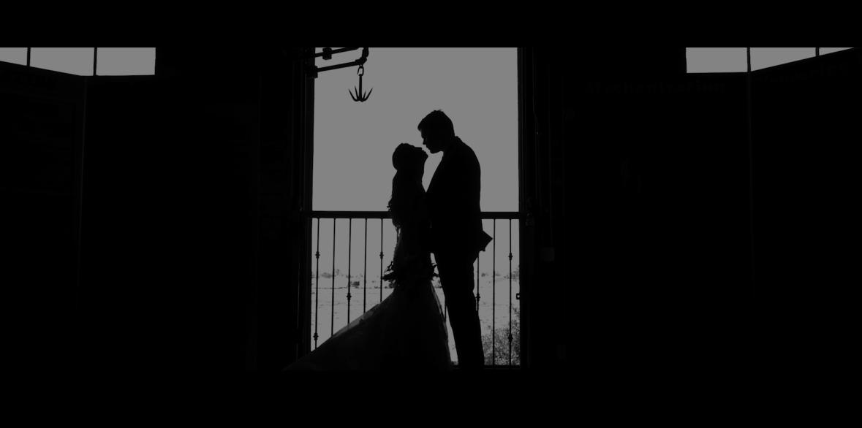 Lauren & Sean Silhouette